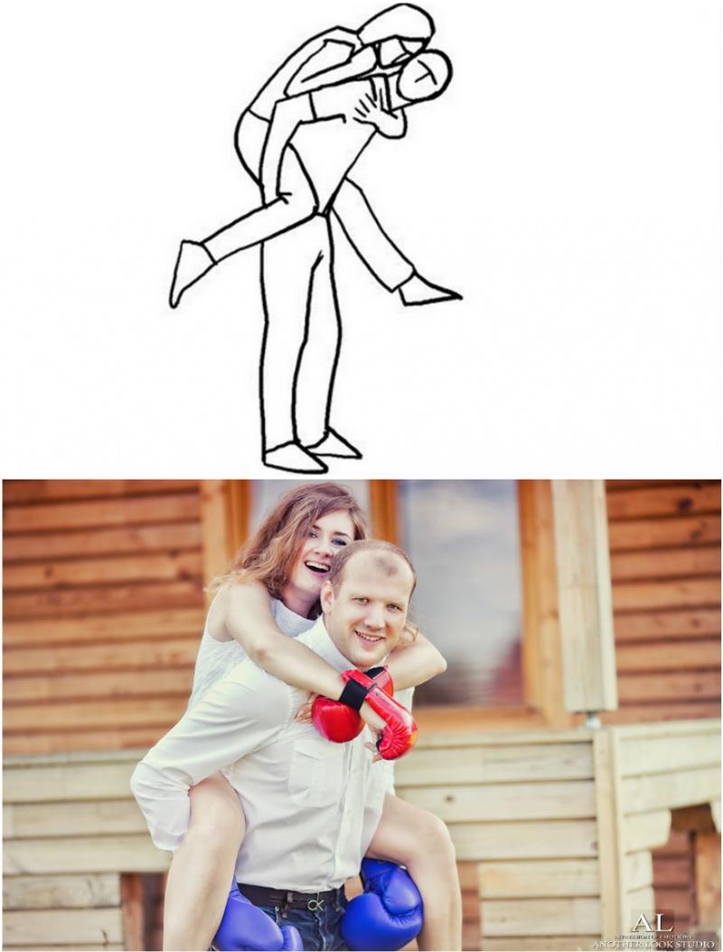 vestuvių fotografas pataria - pozavimas