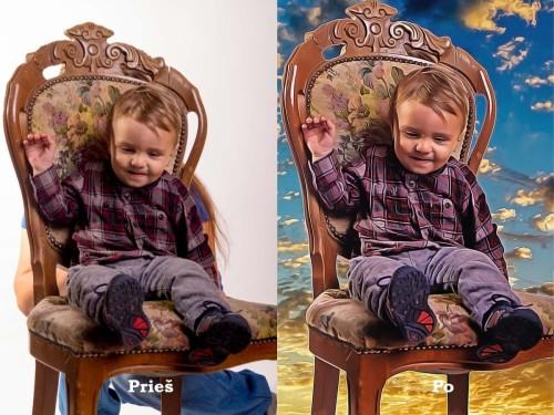 Nuotraukų retušavimas