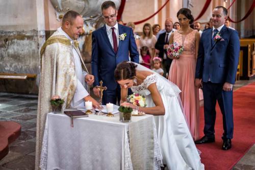 Vestuvių ceremonijos fotografija